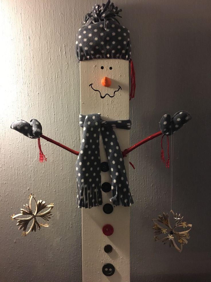 Snømann.