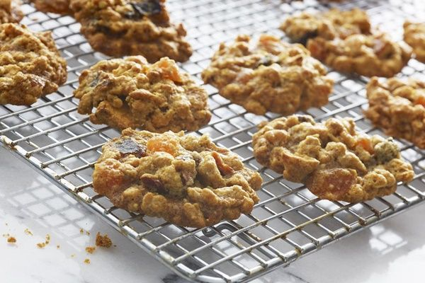 Vegan Granola Cookies Recipe from the Super Seeds Cookbook - dairy-free, gluten-free optional