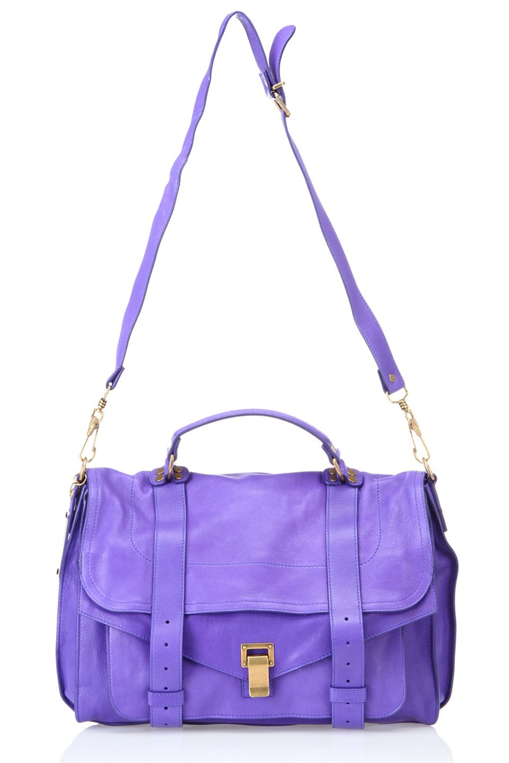 Proenza Schouler PS1 Large Shoulder Bag In Purple Rain