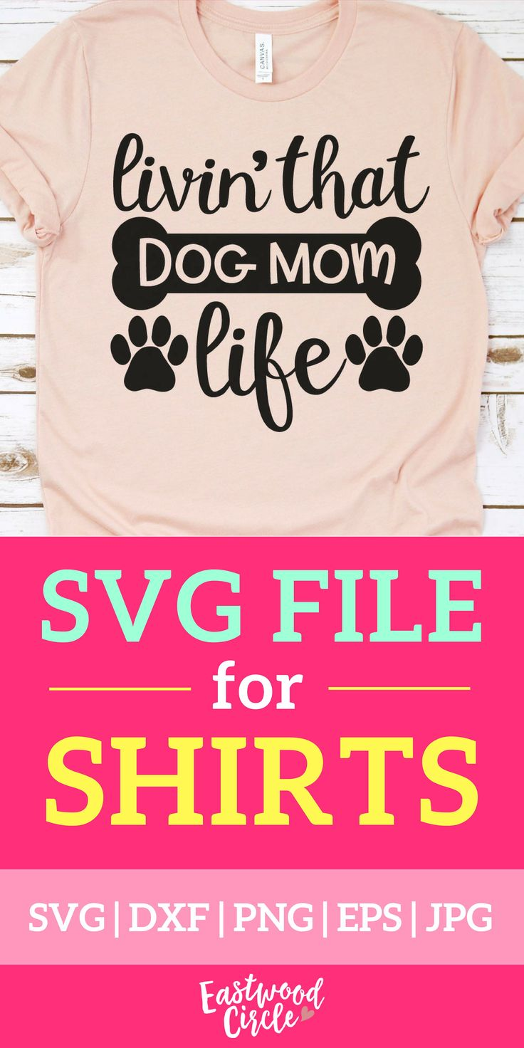 Livin That Dog Mom Life svg, Dog Mom svg, Dog svg, Dog svg