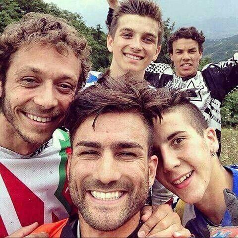 Vale, Luca Marini, Mattia Pasini, Andrea Migno & Franco Morbidelli