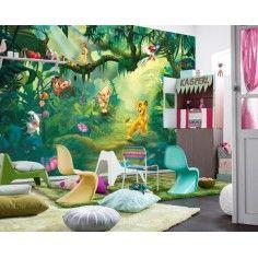 Ταπετσαρία τοίχου παιδική Lion King DISNEY 368x254cm