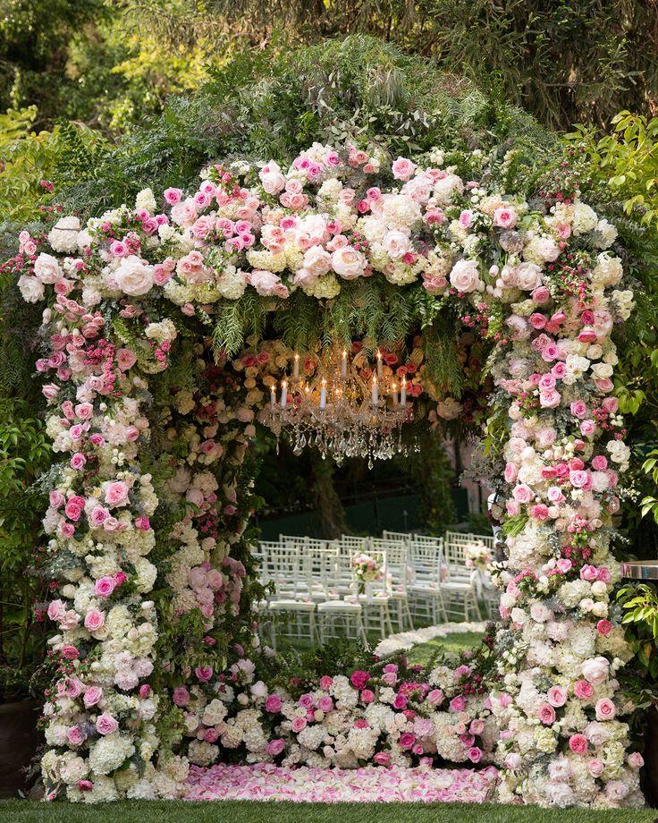 Beach Wedding Altar Flowers: 226 Best Images About Lavish Ceremonies On Pinterest