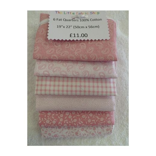 Fat Quarter Bundles :: Classic Pink -