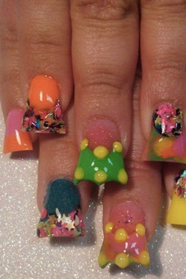 30 besten Nails Bilder auf Pinterest | Nagelkunst, Acrylnägel und Enten