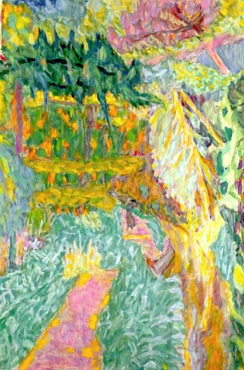 Le Jardin au Cannet (oil on canvas), Bonnard, Pierre