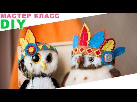 Корона из перьев | Индейцы | StasiaCool DIY - YouTube