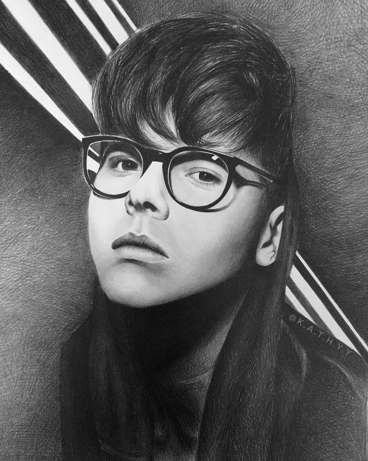 Amazing drawing of Kristian Kostov.