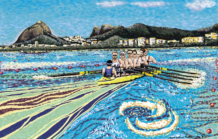 Rio Olympic rowing eights