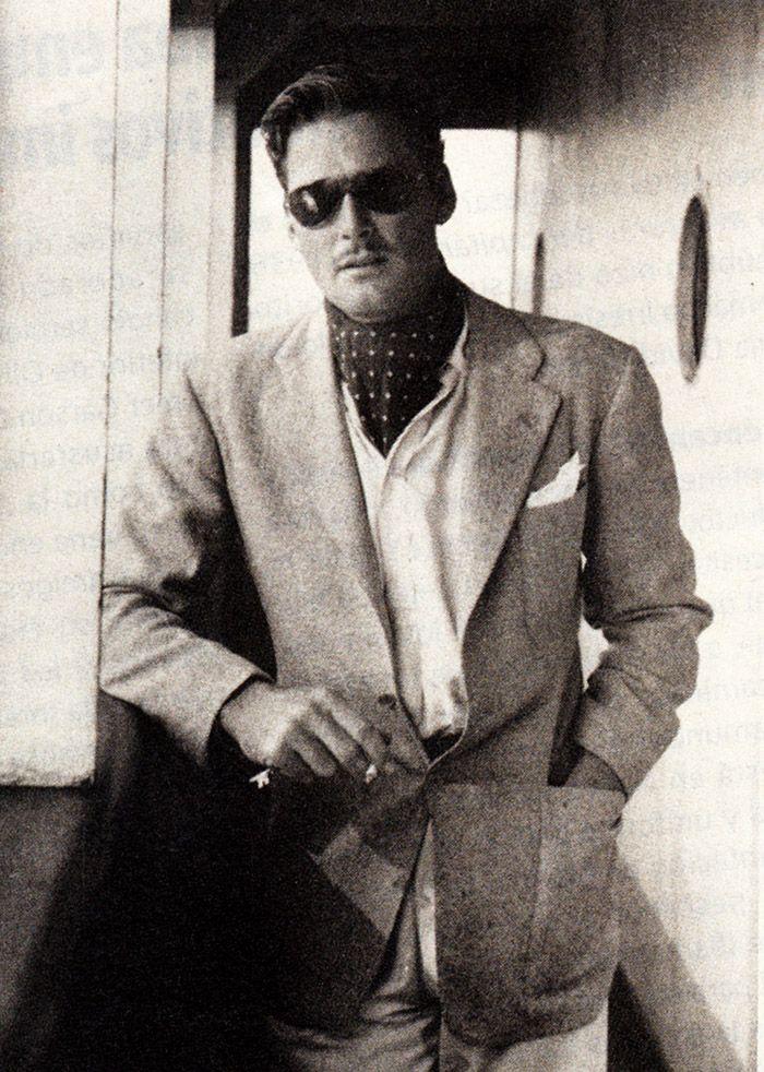 """errolflynnx: """" """"Errol Flynn photographed on board of the SS Matsonia, October 1938. """" """""""