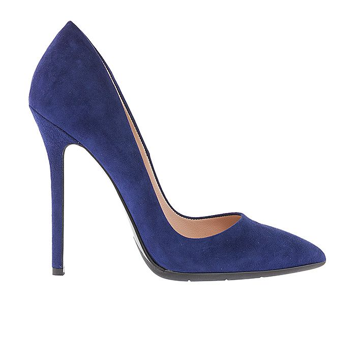 1203A00-BLUE SUEDE #suede #pumps #mourtzi #wow #heels www.mourtzi.com