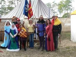 abbey medieval festival - an oldy but a goody - back in 2007 when The Great Outdoors came to film, Hannah was 6 months old :)