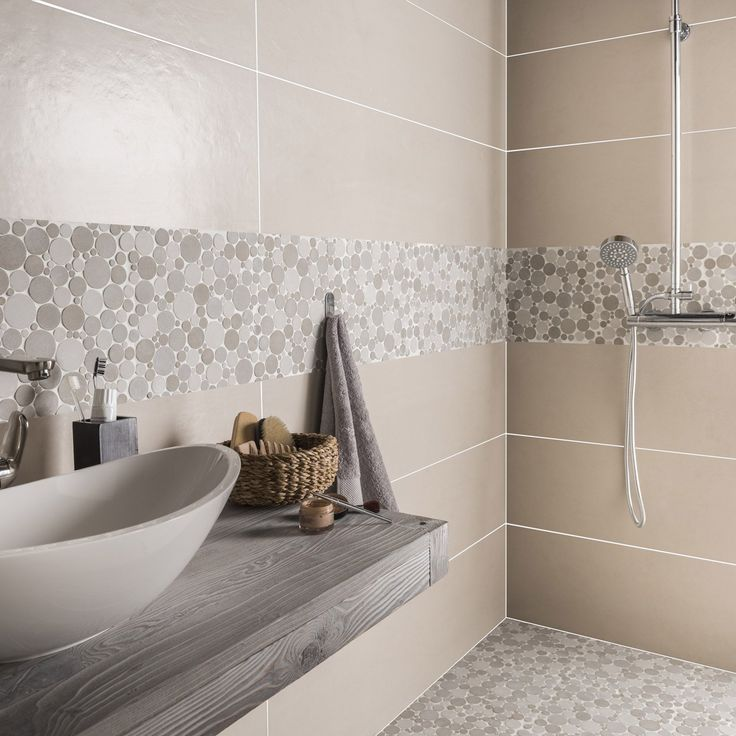 Adapte A La Douche Oui Sol Et Mur Epaisseur En Mm 9 Pinehouse Trendy Bathroom Bathroom Floor Tiles Modern Steam Showers
