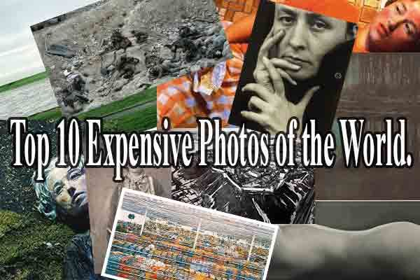 10 World Most Expensive Photos