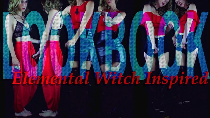 Aesthetic Lookbook, ep 5, #witchaesthetic #witch #lookbook #youtube #fire #elementalwitch #firewitch