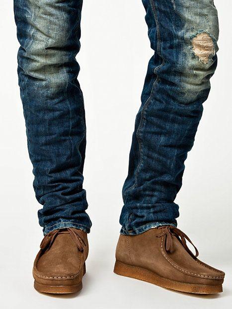 Mens Shoes Custom Clark Wallabees