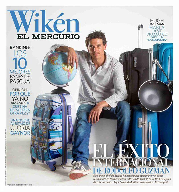 El Éxito Internacional de Rodolfo Guzmán - Restaurante Boragó, Santiago de Chile | Wikén, El Mercurio - Diciembre 13, 2013
