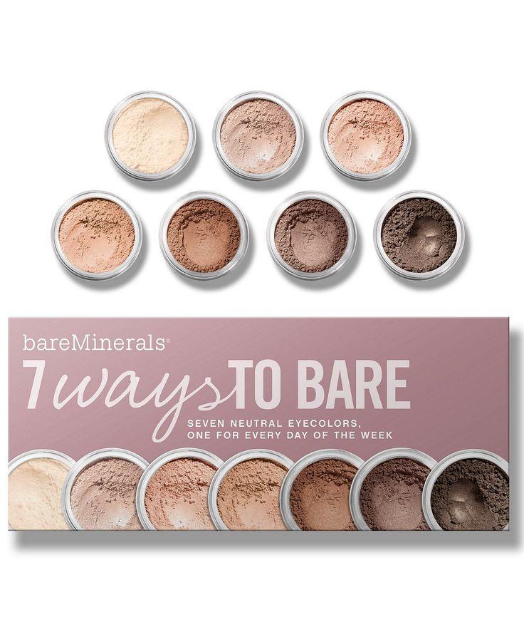 Bare Escentuals bareMinerals 7 Ways to Bare Makeup Value ...