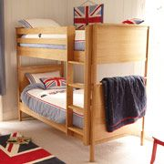 Columbus Bunk Bed  Made from solid oak and oak veneers, the Columbus furniture range is beautifully made in a classic, timeless design that will last into your childrens adulthood and beyond!<pgt http://www.comparestoreprices.co.uk/bunk-beds/columbus-bunk-bed.asp