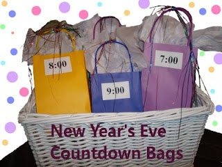 New Years eve count down bags