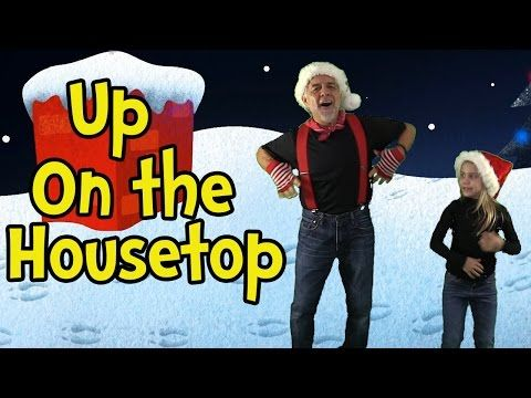 Up on the Housetop - Santa Songs for Children - Christmas Songs for Kids by The Learning Station - YouTube