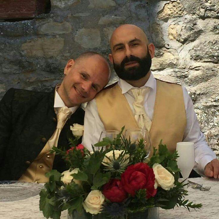 Gay bride, gay couple, italy