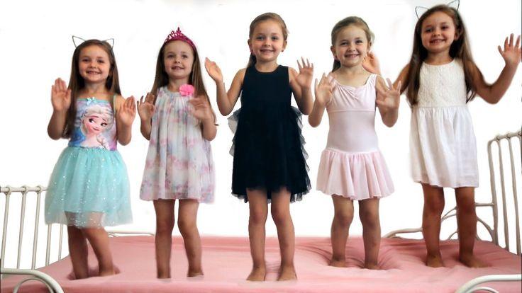Babies Jumping on the Bed - Bad Baby Nursery Rhyme Kindergarten Rhymes
