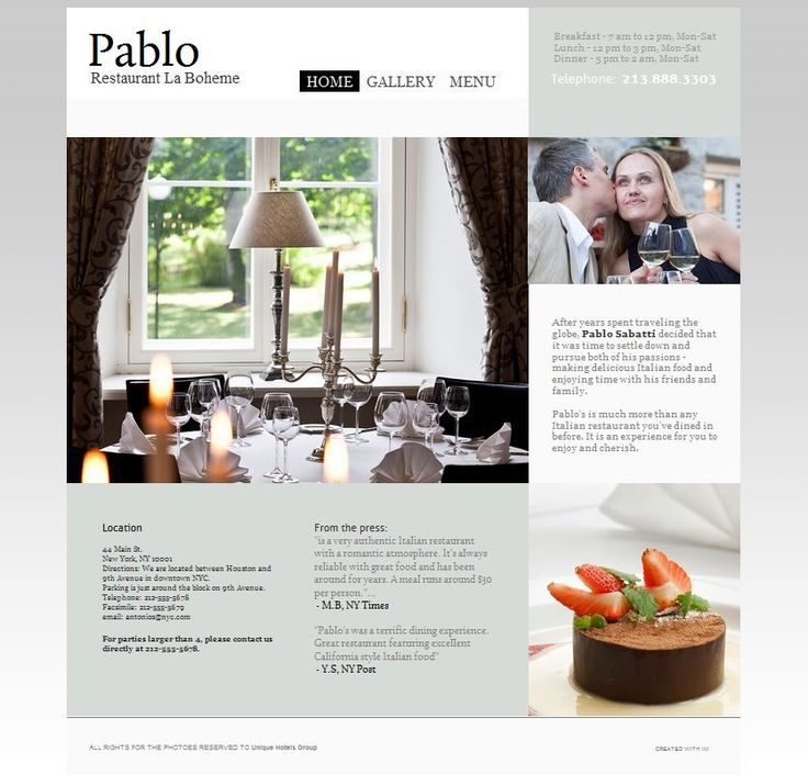 Need a restaurant website build? we can do it