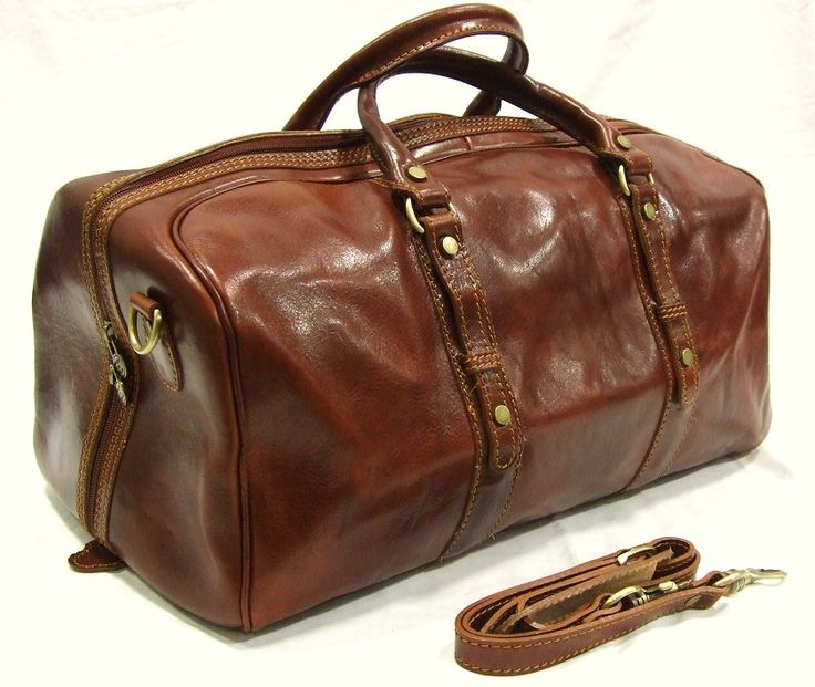 Holdall Leather Bag a Perfect Accessory for today's modern man on the go.