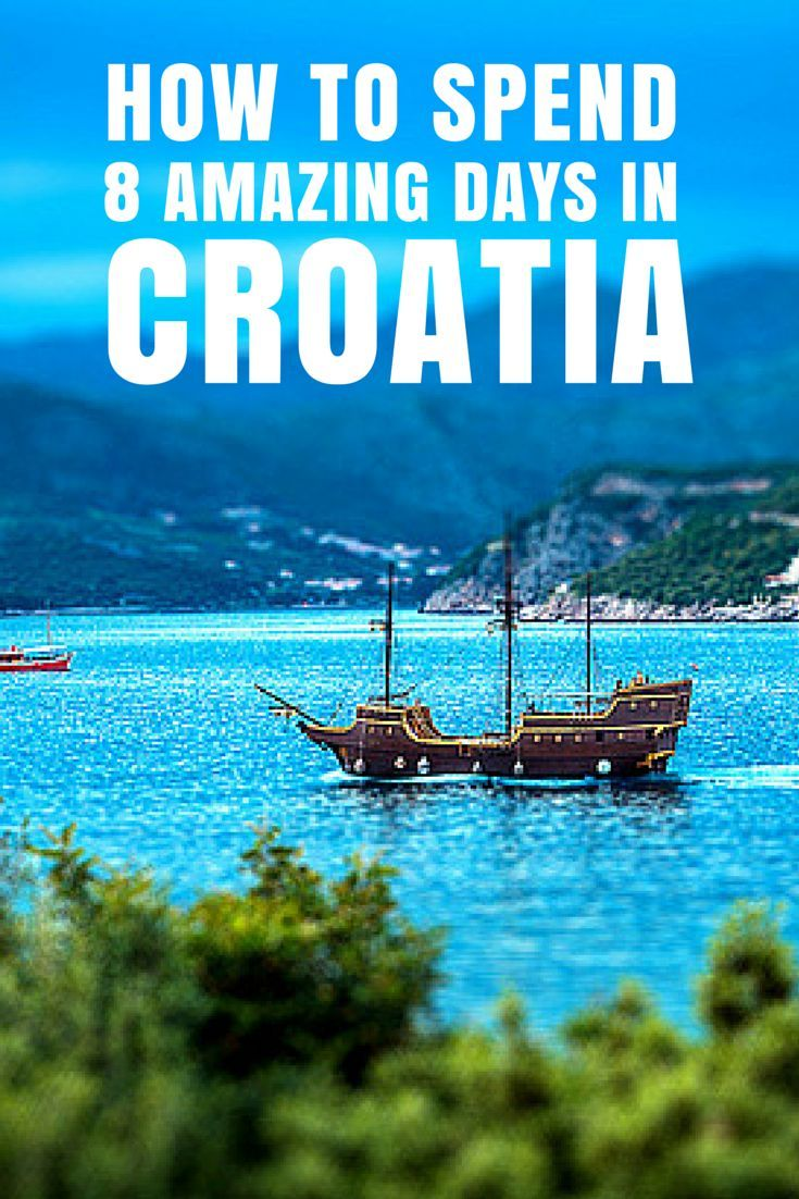 With this  tour of Croatia, you'll be treated to a private tour for two people and experience the Dalmatian Coast in a way you've never seen it before.