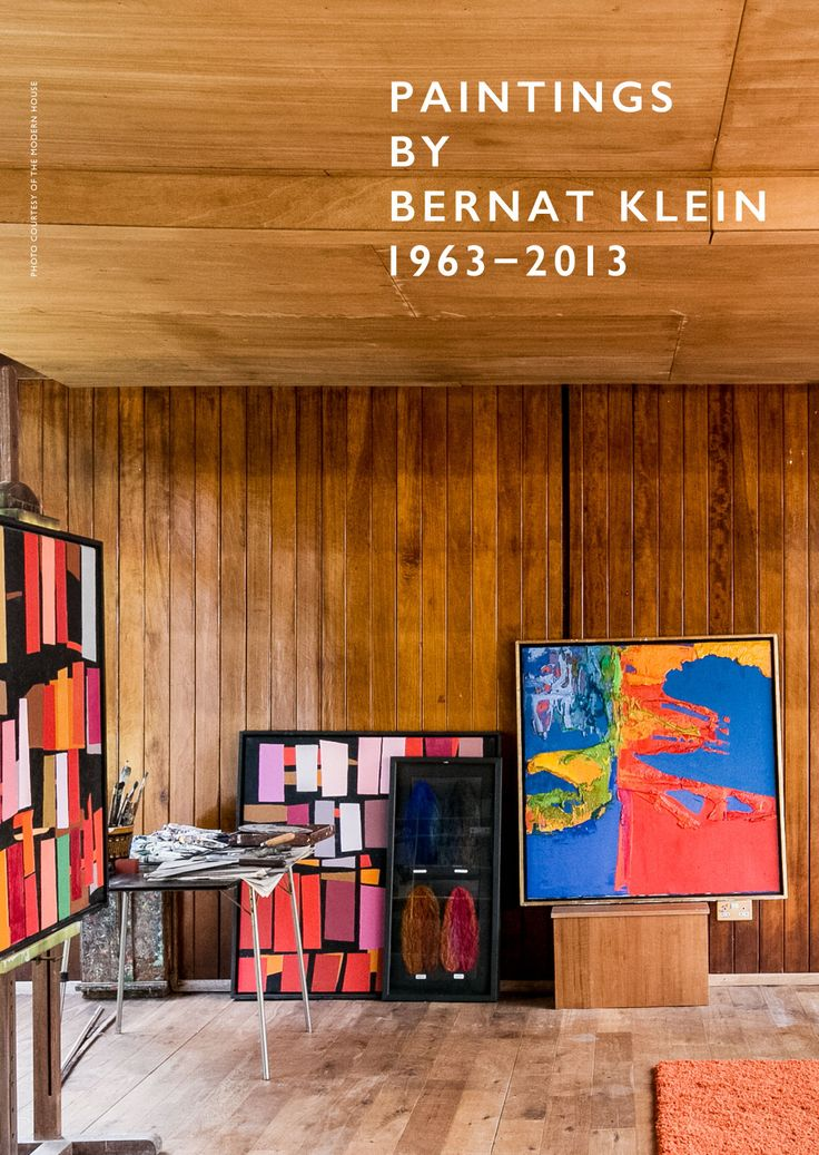 PAINTINGS BY BERNAT KLEIN 1963–2013 An exhibition at our Wigmore Street shop