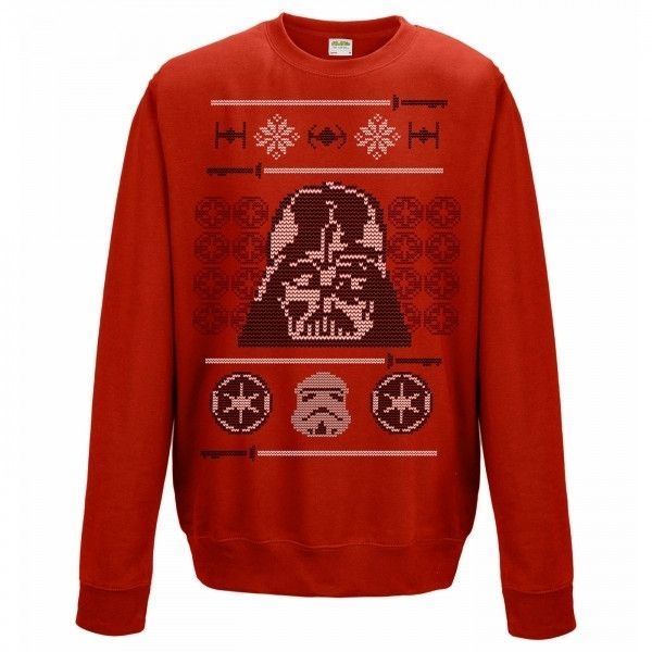 Join the dark side this Christmas with Darth Vader and this awesome Star Wars unisex Christmas sweater featuring the super villain himself along with some festive pizzazz.