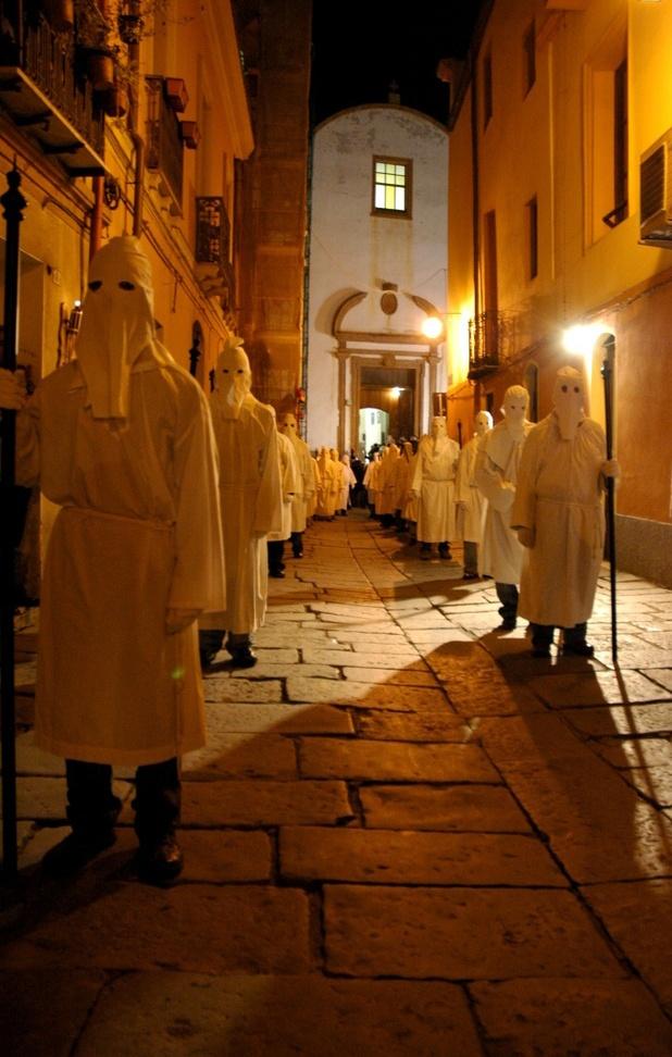 Holy Week in Iglesias, Sardinia, Italy