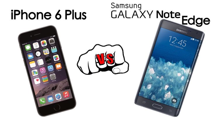 iPhone 6 Plus vs Samsung Galaxy Note Edge comparison: Edge is gimmicky but its specs make it a top 6 Plus competitor