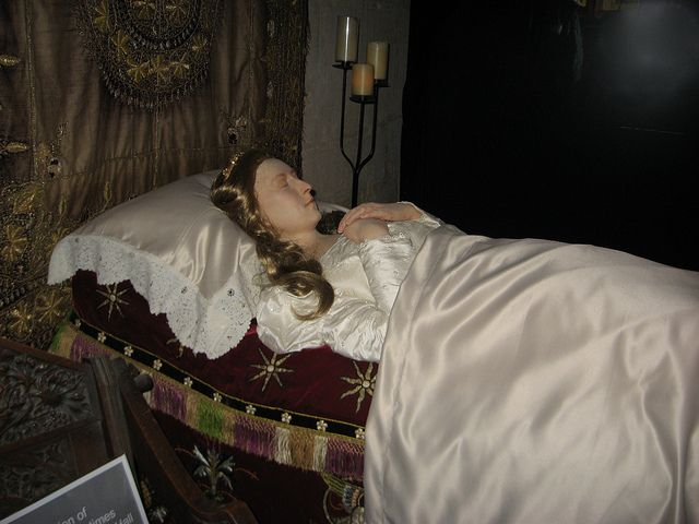 Waxwork Queen Katherine Parr Lying in State at Sudeley Chapel | Flickr - Photo Sharing!