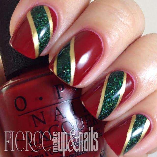 Red Green Nail Art Best Nail Designs 2018
