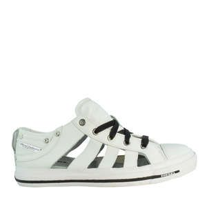 S-andyes Lace-up White
