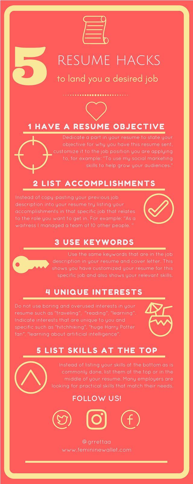 top 25 best cv tips ideas on pinterest resume builder resume
