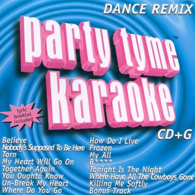 pictures  of  dance remix 1 party tyme karaoke cd | Party Tyme Karaoke: Dance Remix, Vol. 1 - Sybersound ...