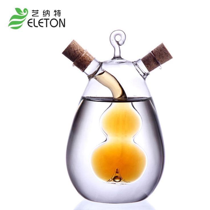 Perfect Kitchen Supplies Creative Oil and Vinegar Cruet Soy Sauce Vinegar Bottle With Outlets Seasoning Bottle