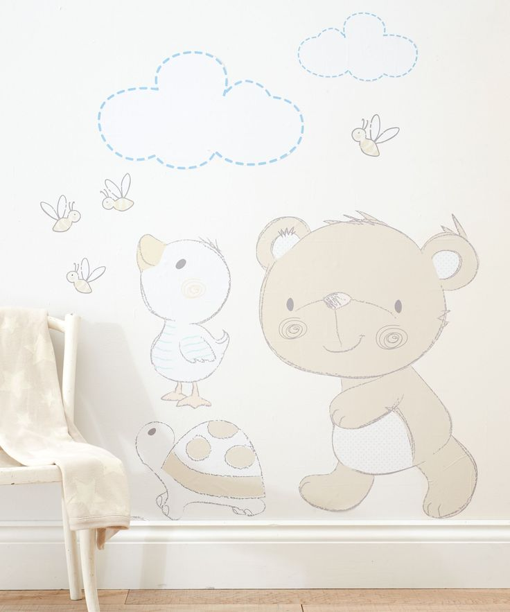 Mothercare Bear and Friends Wall Stickers £20.99