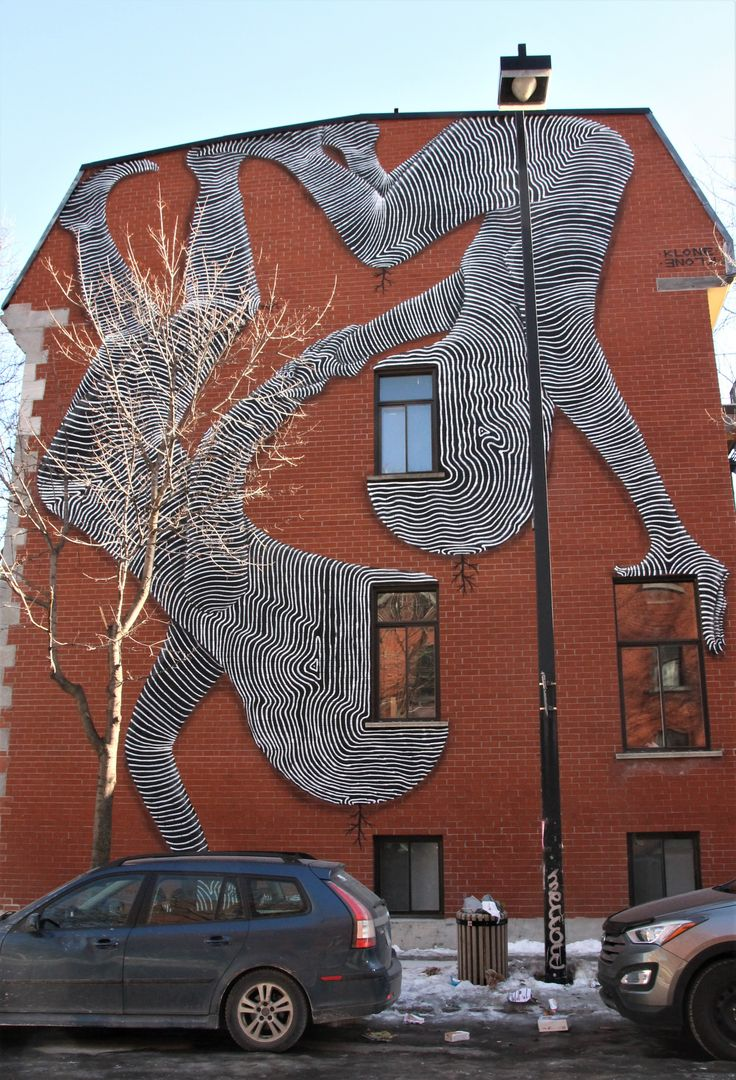 Canada- Montreal's Street Art Lured Me Into Alleys