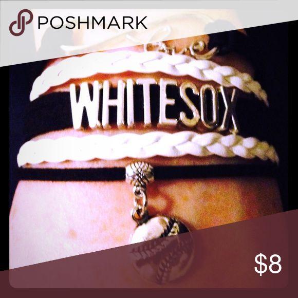 Chicago White Sox Baseball ⚾️ Bracelet Chicago White Sox Baseball ⚾️ Bracelet Jewelry Bracelets