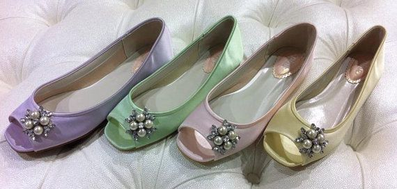Wedding Shoes by Parisxox on Etsy, $122.00