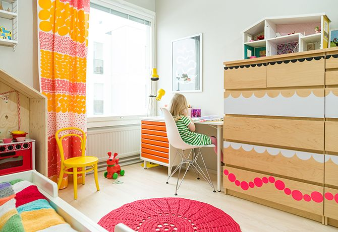 adorable nursery/kids room ideas | love the bright colors!