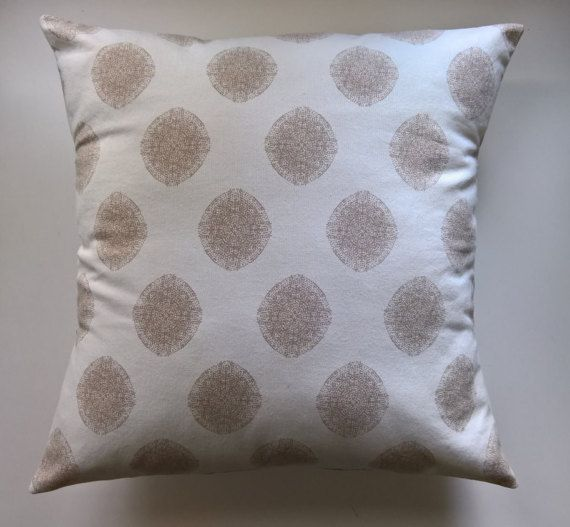 Natural Pillow Cover Off White Pillow Cover Cream by 90West