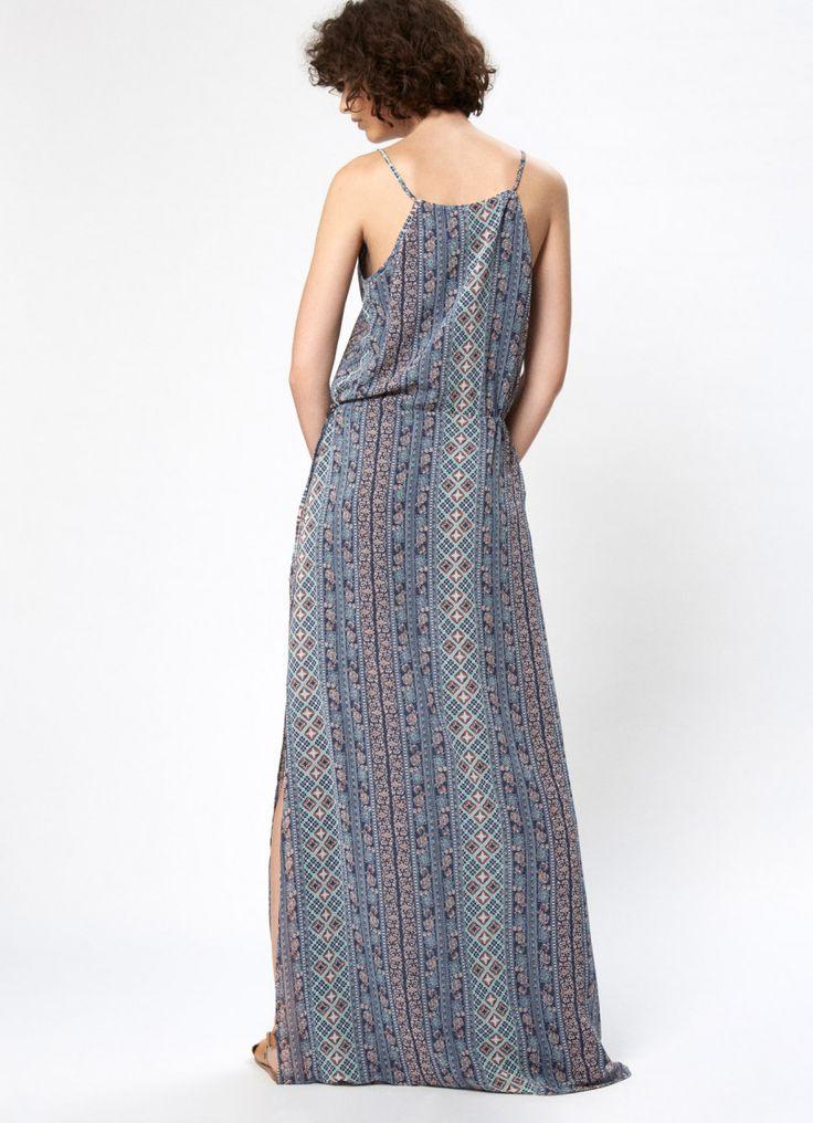 STRAPPY BOHO MAXI DRESS 'AZALEA'