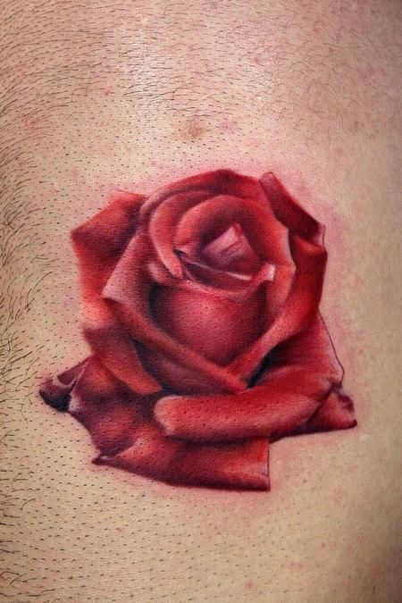 Ryan Mullins - Red rose tattoo