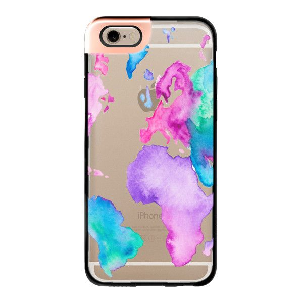 iPhone 6 Plus/6/5/5s/5c Metaluxe Case - Modern pink purple green... ($50) ❤ liked on Polyvore featuring accessories, tech accessories, phone, phone cases, cases, iphone, iphone case, pink iphone case, green iphone cases and apple iphone cases