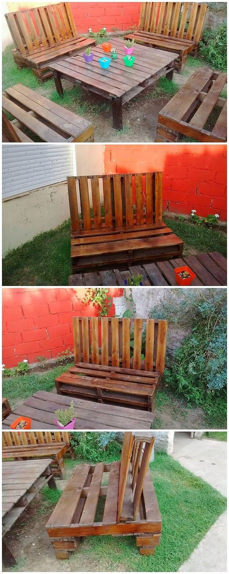 Amazing DIY Projects With Shipping Wood Pallets. Recycling Of The Wood  Pallet For The Furniture Superb Creation ...